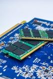 Baran technologii procesorów komputerowa pamięć Zdjęcie Royalty Free