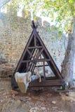 Baran z baran przewodzącym kształtem Zdjęcia Stock