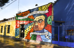 Baranco Lima Peru street art Royalty Free Stock Photography