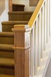 Barandilla de la escalera Foto de archivo libre de regalías