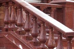 Barandillas del granito Fotos de archivo