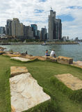 Barangaroo Reserve Australia Day 2016 Royalty Free Stock Images
