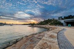 Barangaroo-Reserve in Sydney Stockbild