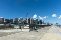 Barangaroo walkway Royalty Free Stock Photography