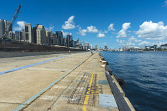 Barangaroo walkway Stock Images