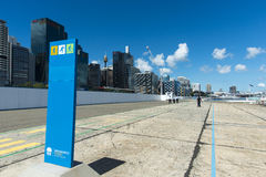 Barangaroo walkway Royalty Free Stock Image
