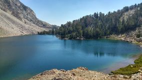 Barani jezioro Obrazy Royalty Free