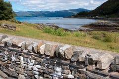 Baraniego Loch sunart Scotland zlany królestwo Europe zdjęcia royalty free