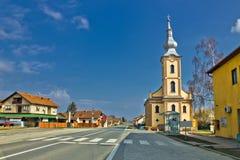 Baranjsko Petrovo Selo - village in Croatia Royalty Free Stock Images