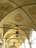 Baranow Sandomierski, palácio dos exteriores em Baranow Sandomierski, Polônia, chamou frequentemente Wawel pequeno foto de stock