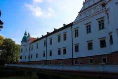 Baranow Sandomierski, palácio dos exteriores em Baranow Sandomierski, Polônia, chamou frequentemente Wawel pequeno imagem de stock