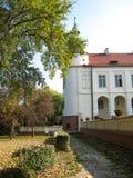 Baranow Sandomierski, palácio dos exteriores em Baranow Sandomierski, Polônia, chamou frequentemente Wawel pequeno imagens de stock royalty free