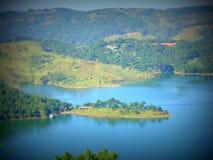 Barapani. Oasis of Shillong Barapani lake Royalty Free Stock Image