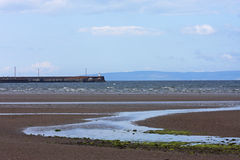Barassie beach, Troon Royalty Free Stock Photo