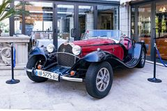 barata de Bugatti dos anos 30, Soller, Mallorca Foto de Stock