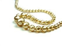 Baratija del jewelery de la perla Imágenes de archivo libres de regalías