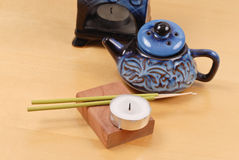 Baratijas caseras de la terapia del aroma Foto de archivo libre de regalías