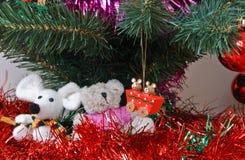Baratijas de la Navidad Foto de archivo libre de regalías