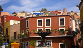 Baratillo Guanajuato quadrato Messico Immagine Stock Libera da Diritti