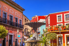 Baratillo Square Guanajuato Mexico Royalty Free Stock Photos