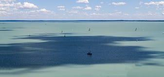 Baraton del lago a Budapest, Ungheria immagine stock libera da diritti
