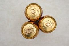 Barattoli della birra di zenzero immagini stock libere da diritti