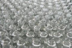 Barattoli di vetro vuoti largamente Immagini Stock Libere da Diritti