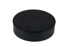 Barattolo cosmetico di imballaggio, della crema, della polvere o del gel con il cappuccio Fotografia Stock Libera da Diritti