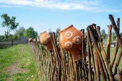 Barattolo dell'argilla Fotografie Stock