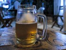 Barattolo della birra fotografie stock