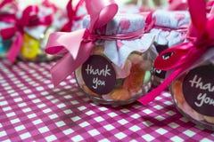 Barattolo di Candy Fotografie Stock