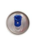 Barattolo di latta della bevanda di energia fotografie stock libere da diritti