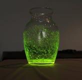 Barattolo fluorescente Fotografia Stock