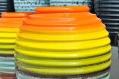 Barattolo in molti colourful Immagine Stock Libera da Diritti