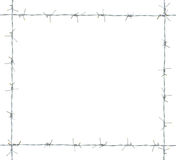 Barb frame. Stock Photos