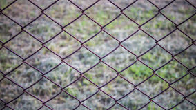 The barb and net. A barb and net on ground Royalty Free Stock Photo