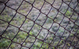A barb and net. On ground Stock Photo