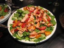 Barb's salmon salad Royalty Free Stock Image