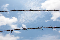 Barb wire Stock Images