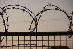 Barb Wire Fotografia Stock