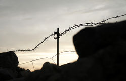 Barb Wire Stockbild