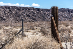 Barb wire fence Royalty Free Stock Photos