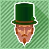 Barba del manillar y de Chin Puff Imagen de archivo libre de regalías