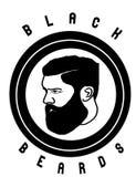 Barba negra Fotos de archivo libres de regalías