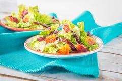 Barbabietola ed insalata delle arance sanguinelle Immagine Stock