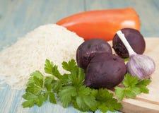Barbabietole cucinate Fotografia Stock Libera da Diritti