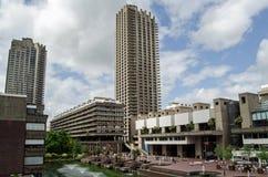 Barbacana, ciudad de Londres Imagen de archivo