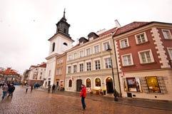 Barbacana de Varsovia Imágenes de archivo libres de regalías