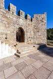 Barbacana del castillo de Feira Fotos de archivo