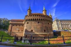 Barbacane de Cracovie Image libre de droits